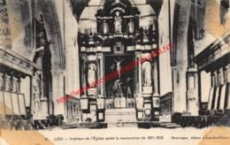 Intérieur De L'Eglise Après La Restauration De 1911-1912 - Loo - Lo-Reninge - Lo-Reninge