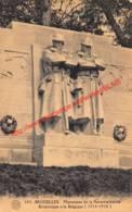 Monument De La Reconnaissance Britannique à La Belgique - Brussel Bruxelles - Bruxelles-ville