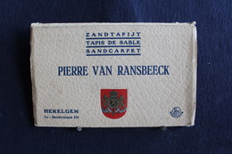 I-108 /10 Cartes-vues/ Brabant Flamand, Affligem- Hekelgem, Pierre Van Ransbeeck - Zandtapijt - Tapis De Sable / Circulé - Gent