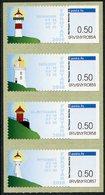FAROE ISLANDS (2018) - ATM Lighthouse, Faro, Leuchtturm, Phare, Fyr - Nólsoy, Skansin, Slaettanes, Mykines - Faroe Islands