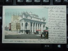 Cpa Couleur Willis Wood Theatre, Kansas City 17 Juin 1907 Adressée à La Localité De NANCY. - Kansas City – Missouri