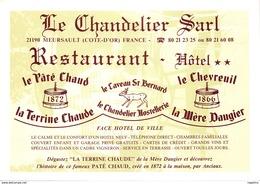 21-MEURSAULT-RESTAURANT LE CHANDELIER-N°527-A/0355 - Meursault