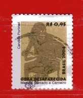 (1Us) Brasile °- 2004 - Dipinti Scomparsi Di  CANDIDO PORTINARI - Yvert.2904. Used. - Brasile