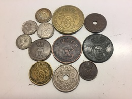 Lot Of Older Danish Coins - Denemarken