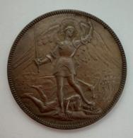 Medaille. J.C. Chaplain. Bruxelles. Brussel. Gemeenteraad 1903 Conseil Communal. E. De Mot. 42 Mm. 21 G - Professionnels / De Société