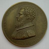 Medaille Bronze. Jouvenel. Congressus Universus Physiologiale Vicesimus 1956. Andreas Versalius. 48mm - Professionnels / De Société