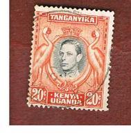 KENYA, UGANDA & TANGANYIKA  - SG 139 -  1938 BIRDS: CROWNED CRANES 20   -USED° - Kenya, Uganda & Tanganyika