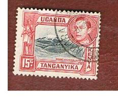 KENYA, UGANDA & TANGANYIKA  - SG 137 -  1938 MOUNT KILIMANJARO    -USED° - Kenya, Uganda & Tanganyika