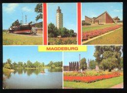 CPMnon écrite Allemagne MAGDEBURG Multi Vues - Magdeburg