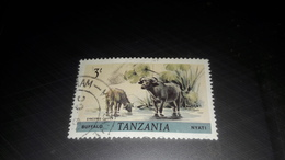 Tanzania 1980 Animali  Syncerus Caffer - Tanzania (1964-...)