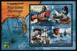 Gibraltar 1999 - Mi-Nr. Block 35 ** - MNH - Schiffe / Ships - Gibraltar