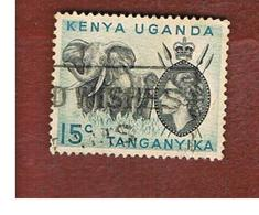 KENYA, UGANDA & TANGANYIKA  - SG 169 -  1958 ANIMALS: AFRICAN ELEPHANT   -USED° - Kenya, Uganda & Tanganyika