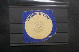 FRANCE - Fiscal - Timbre D'Etat - Affiches Enregistrement - 1942 - L 39332 - Fiscaux