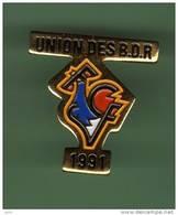 FOOT *** FCF UNION DES BDR *** 1019 - Football