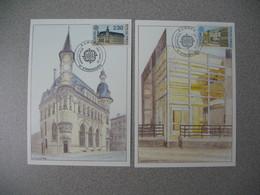 Carte Maximum 1990   N°  2642 Et 2643 - Maximum Cards
