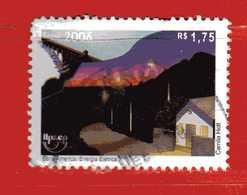 (1Us) Brasile °- 2006 - Série América : Energia  Elettrica. UPAEP.. Used. - Brasile