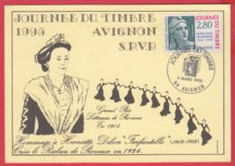 JDT -AVIGNON - 4 Mars 1995- Marianne De GANDON _ Hommage à Henriette DIBON - 2 SCAN - 1990-1999