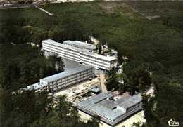 CPSM Grand Format MONTARGIS (Loiret) 419 70Le Collège En Foret  Vue Aérienne Colorisée  RV Edit  Combier - Montargis