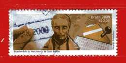 (1Us) Brasile °- 2009 - RICARDO CRISTOFARO  Yvert. 3043. Used. - Brasile