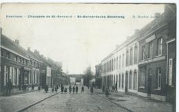 Hemiksem - Hemixem -Chaussée De St-Bernard - St-Bernardsche Steenweg - D. Hendrix Anvers - 1909 - Hemiksem