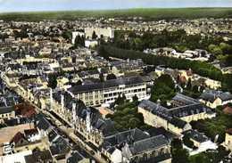 CPSM Grand Format EN AVION AU DESSUS DE ...3KMONTARGIS (Loiret) L'Hopital Et Vue D'ensemble Colorisée  RV Edit LAPIE - Montargis