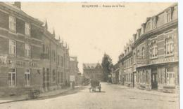 Beauraing - Avenue De La Gare - Hôtel De La Gare - E. Desaix - 1924 - Beauraing