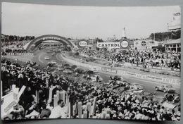 72 Carte Photo Circuit Le Mans 1962 Sport Automobile Course Castrol Dunlop Esso - Le Mans