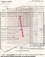 87- SAINT JUNIEN- BANQUE DE FRANCE 1929- MME BISSERIER NEE REBEYROL - Bank & Insurance