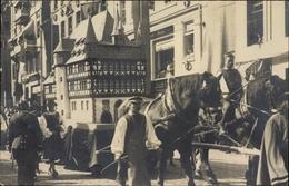 Photo Cp Kassel In Hessen, 1000 Jahrfeier 1913, Festumzug, Pferdefuhrwerk Mit Modellgebäude - Deutschland