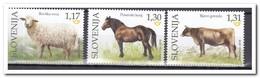 Slovenië 2018, Postfris MNH, Farm Animals - Slovenië