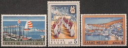 D - [828598]TB//**/Mnh-Grèce 1969 - N° 977/79,  Vacances & Tourisme, SC - Unused Stamps