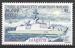 TAAF 2001  N° 289  Neuf * * Luxe  TTB - Franse Zuidelijke En Antarctische Gebieden (TAAF)
