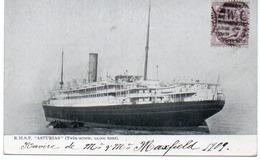"""PAQUEBOT """" ASTURIAS """" R.M.S.P.   ANNEE 1909 - Steamers"""