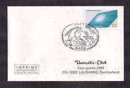Deustche Bundespost - 1982 - FDC - Cachets Spéciaux - Fossiles De Dinosaures - Briefmarken