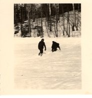 Foto 2. WK - 2 Soldaten Im Schnee In Rußland - Fotografie
