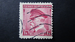Czechoslovakia - 1939 - Mi:DE-BM A1, Sn:CS 256, Yt:CS 355 Used - Look Scan - Tchécoslovaquie