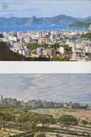 Rio De Janeiro, 2 Cartes Circulée. Brésil. - Rio De Janeiro