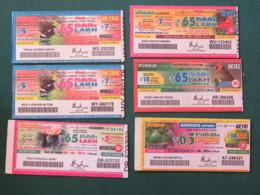 India - Spain - Lottery Tickets - Loterijbiljetten