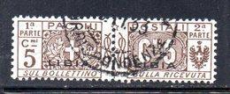 APR2240 - LIBIA 1915 ,  Pacchi Postali Sassone N. 1 Usato    (2380A) - Libye