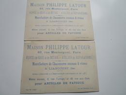 Maison PHILIPPE LATOUR - Manufacture Se Chaussures Cousues & Rivées (2 Chromos) - Liancourt