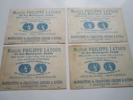 Maison PHILIPPE LATOUR - Manufacture Se Chaussures Cousues & Rivées (4 Chromos) - Liancourt