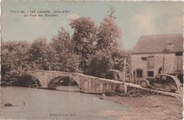 Bv - Cpa LES LAUMES (Côte D'Or) - Le Pont Des Romains - France