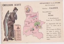 Bv - Cpa Département De La DROME - Emulsion Scott - France