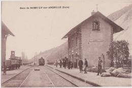Bv - Cpa Gare De ROMILLY Sur ANDELLE (Eure) - Altri Comuni