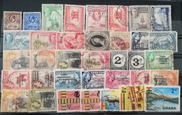 Ghana  Def. USED LOT - Ghana (1957-...)