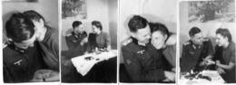 Foto 2. WK - Soldat Beim Heimaturlaub Mit Frau - Fotografie