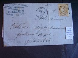 Francia Marcophilie Napoléon Laurée Et III République. Petite Collection.Description. 5 Photos - 1849-1876: Classic Period