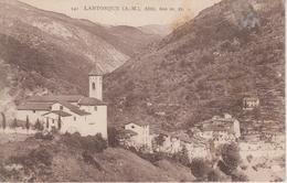 CPA Lantosque - (avec Vue Sur L'église) - Altitude 600 M - Lantosque