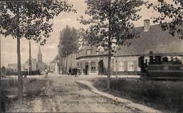 Coyghem - Tramstatie - Gare Du Tram (top Animatie, Tram Tramway , EditMarguerite Delabie La Chasse Royale Café) - Kortrijk