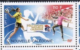 NEW CALEDONIA, 2018, MNH, SPORTS, HANDBALL, WOMEN'S HANDBALL,1v - Handball